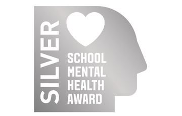 Silver School Mental Health Award Logo